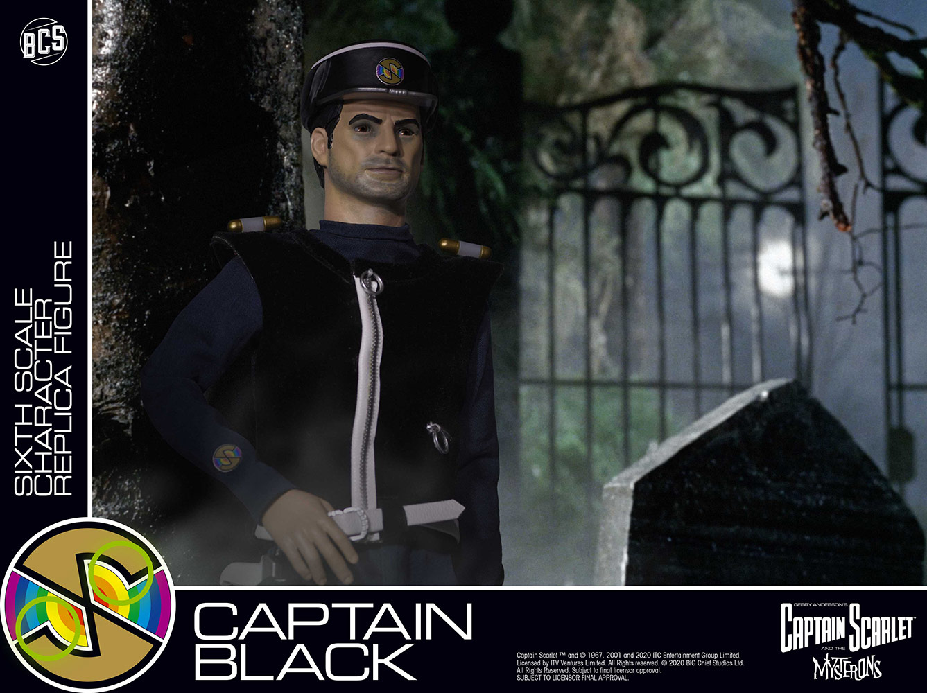 Big Chief Studios Captain Scarlett and the Mysterons Captain Black