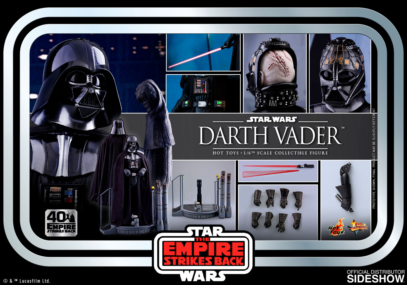 Hot Toys MMS572 Star Wars: The Empire Strikes Back Darth Vader