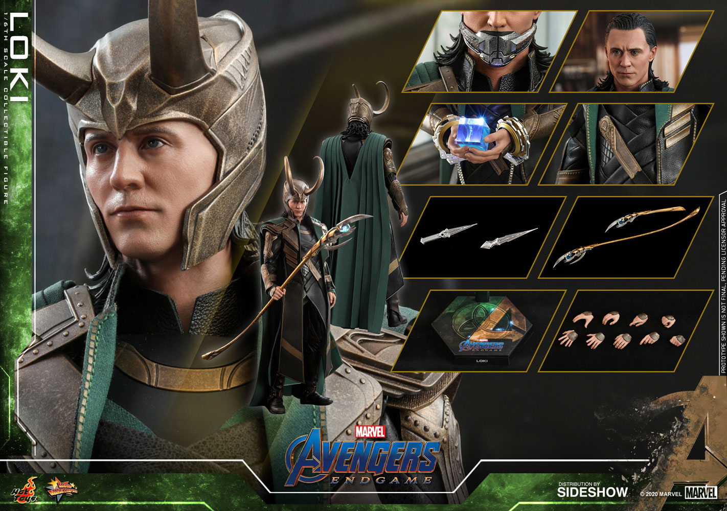 Hot Toys MMS579 Avengers: Endgame Loki 1/6th Scale Figure